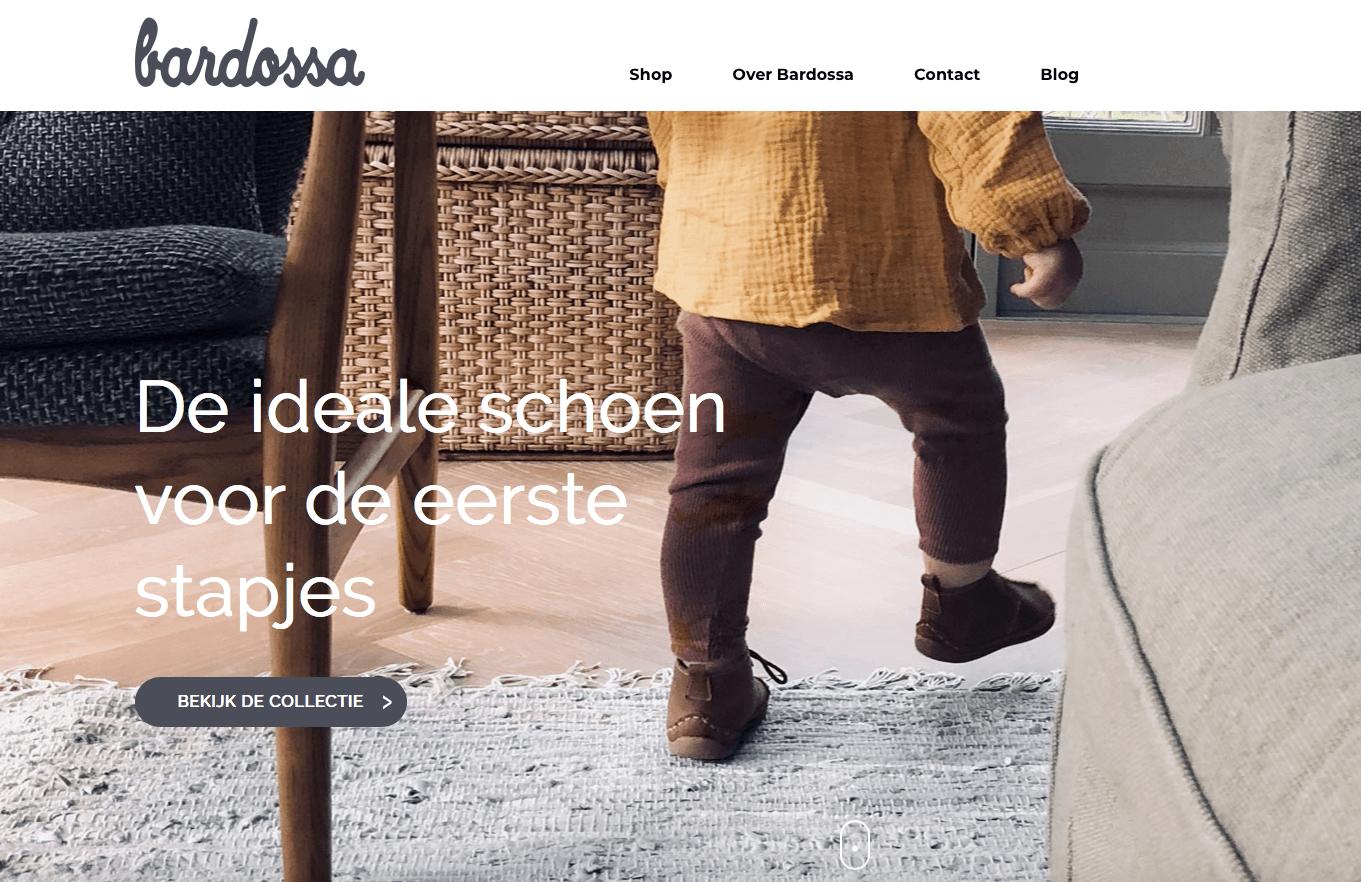 Nieuwe webshop Bardossa